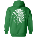 Native Headdress Shirt Hoodies - Back Print