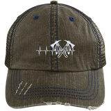 Native Inspired Heart Beating Battle Axe Cap