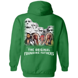 The Original Founding Fathers Hoodies - Back Print