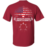 Native Inspired Lakota Roots - Back Print