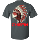 Native Indian Chiefin - Back Print