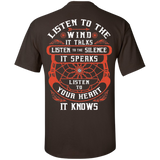 Listen To The Wind - Back Print