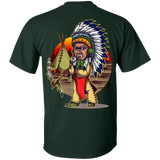 Native Chieftain - Back Print