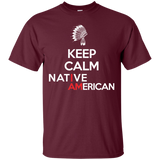 Keep Calm Native Chief