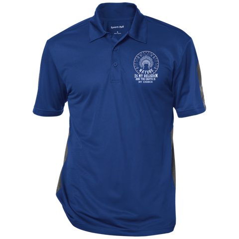 Native Inspired Earth Is My Church - Polo Shirt