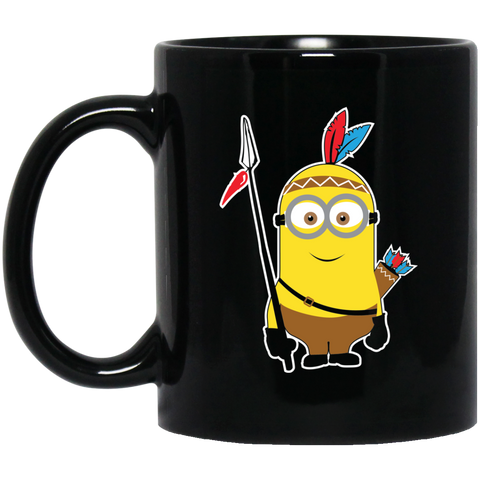 Native Inspired Minion Warrior Mug