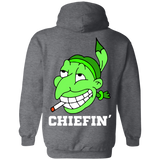 Chiefin' Hoodies - Back Print