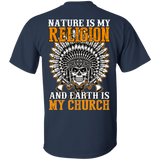 Nature Is My Religion - Back Print