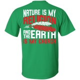 Red Nature Is My Religion - Back Print