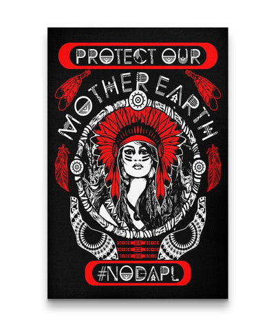 Protect Our Mother Earth - Canvas