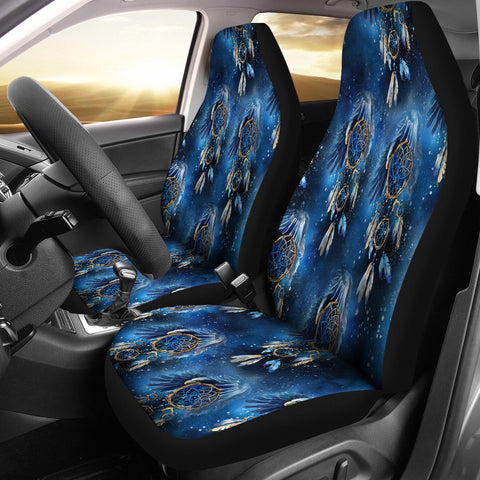 Galaxy Dream Catcher Cat Seat Covers