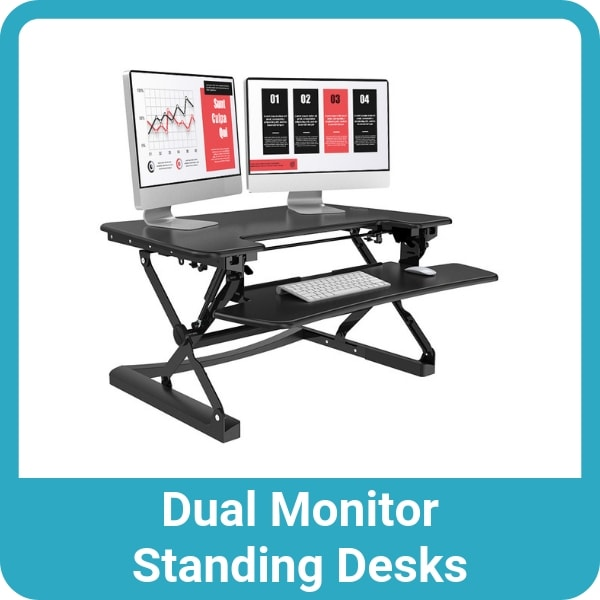 Dual Monitor Standing Desks
