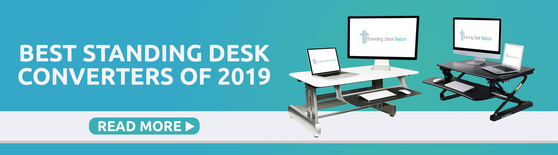 Best Standing Desk Converters of 2019 by Standing Desk Nation