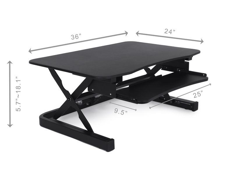 Apexdesk Zt Electric Desk Riser Standing Desk Nation