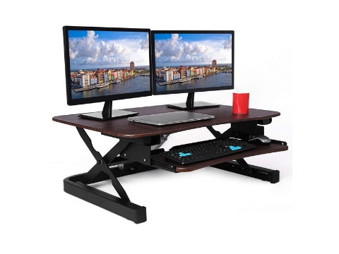 ApexDesk ZT Series Electric Standing Desk Converter