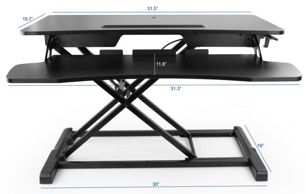 VIVO DESK-V000K Dimensions