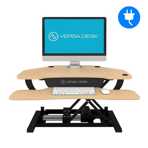 Electric standing desk converters collection