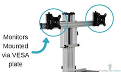 Ergo Desktop Kangaroo Elite VESA Monitor Mounts