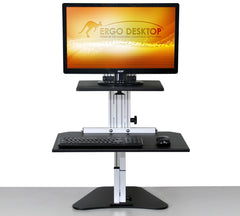 Ergo Desktop Kangaroo Junior Standing Desk front view