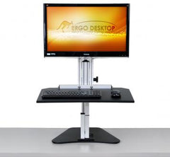 Ergo Desktop Wallaby Junior Standing Desk front view