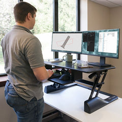 Ergotech Freedom Desk 30 3D View Standing