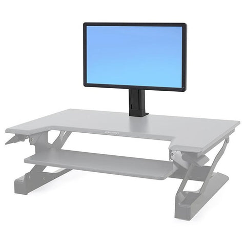 Ergotron Workfit Single LD Monitor Kit front View