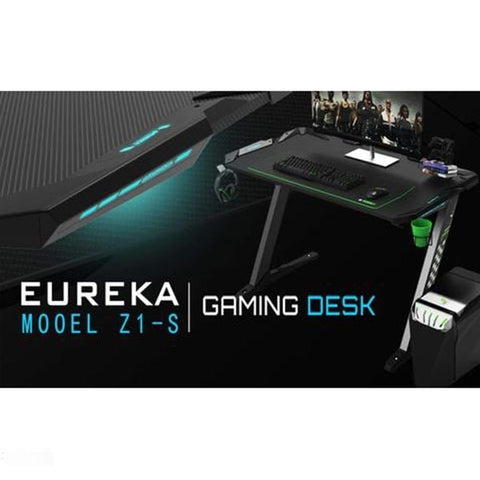 Eureka Z1-S Gaming Desk Full View