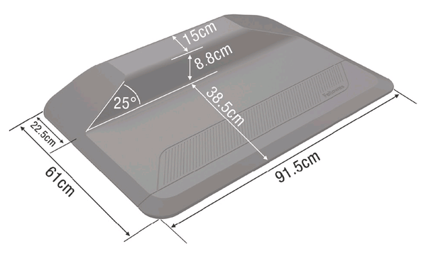 Fellowes Active Fusion Anti Fatigue Mat Dimensions