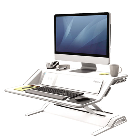 Fellowes Lotus DX White 3D View