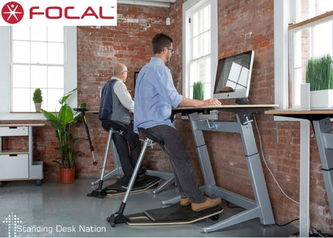 Focal Upright Office with Focal Locus Seat and Desk