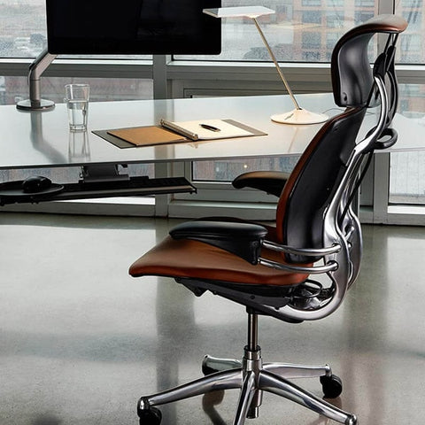 Humanscale Freedom Headrest Task Chair Side View