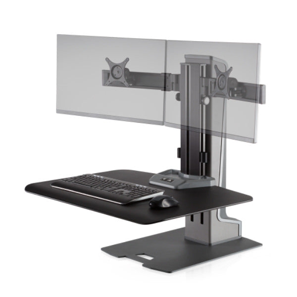 Innovative Winston E Dual Monitor Electric Workstation