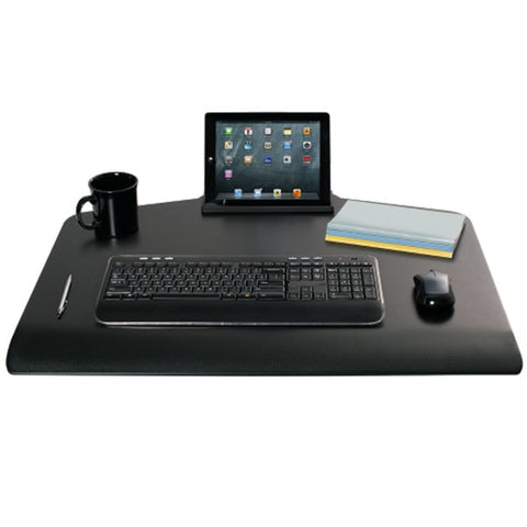 Innovative Winston Workstation Single Monitor Sit Stand Keyboard Tray