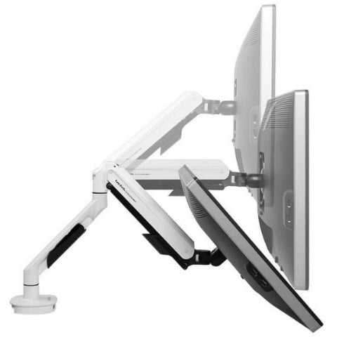 Loctek Q7 Single Monitor Arm Side View