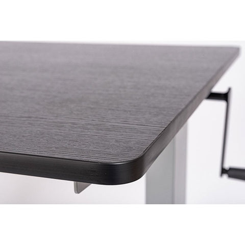 Luxor 60 Crank Adjustable Stand Up Desk Close Up