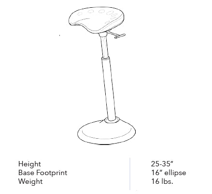Focal Upright Mobis II Seat Dimensions