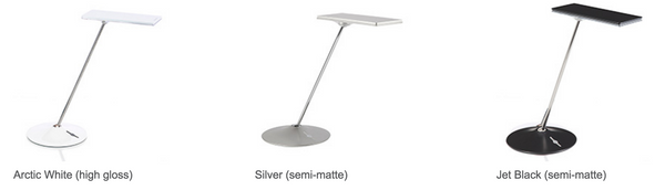 Humanscale Horizon LED Task Light Color Option