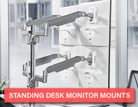 Standing Desk Monitor Mounts