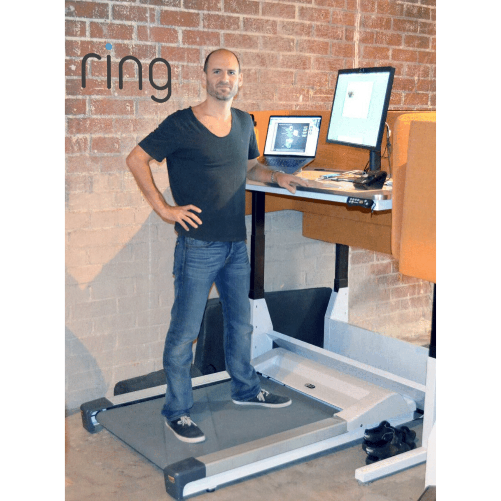 InMovement Unsit Treadmill Desk at the Ring offices