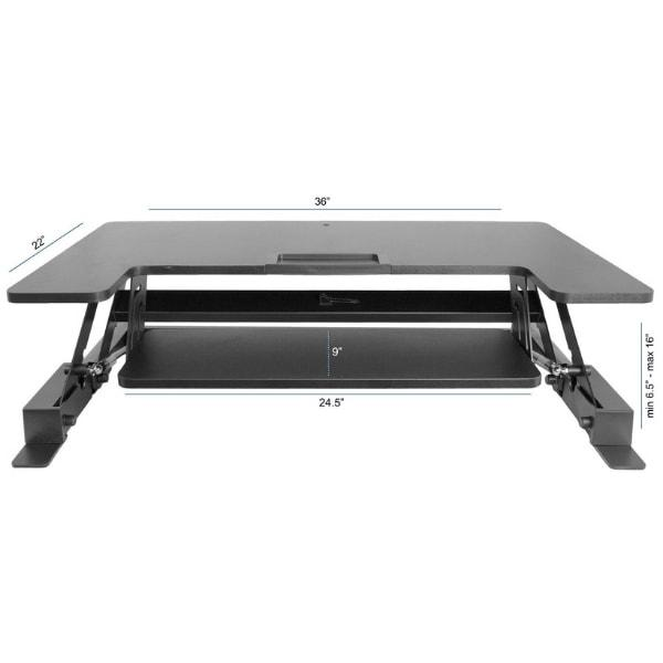 VIVO DESK-V000B Dimensions