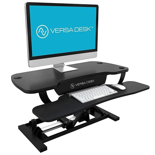 Versadesk Power Pro 36 Inch Electric Standing Desk Converter