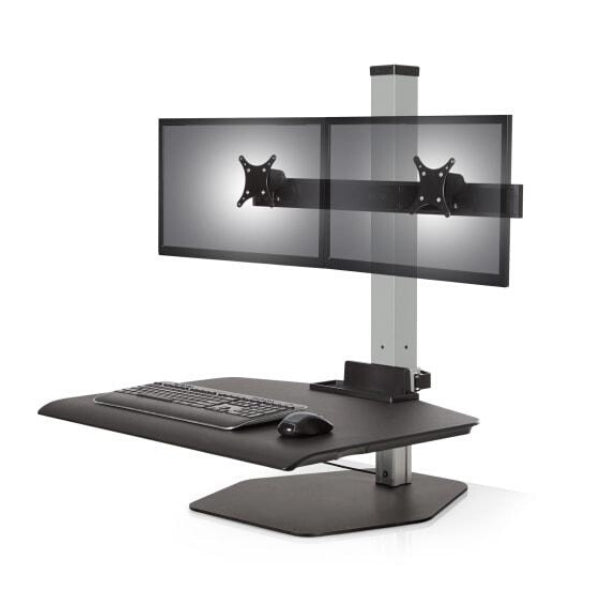 Winston Workstation dual monitor standing desk converter
