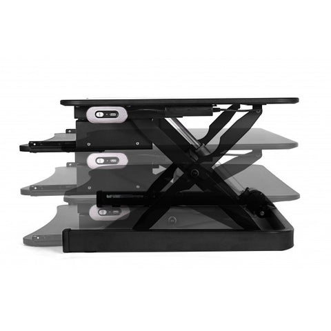ApexDesk ZT Electric Desk Riser Height Setting