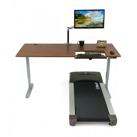 iMovR Cascade Treadmill Desk Front View