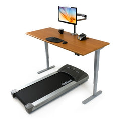 iMovR Energize Treadmill Desk facing left