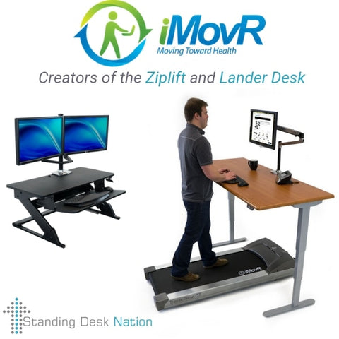 iMovR Standing Desks - Creators of the Ziplift and Lander Desk