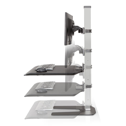 Winston Workstation height adjustment range