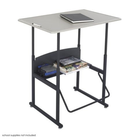 "AlphaBetter® Adjustable-Height Stand-Up Desk, 36 x 24"" - Standing Desk Nation"