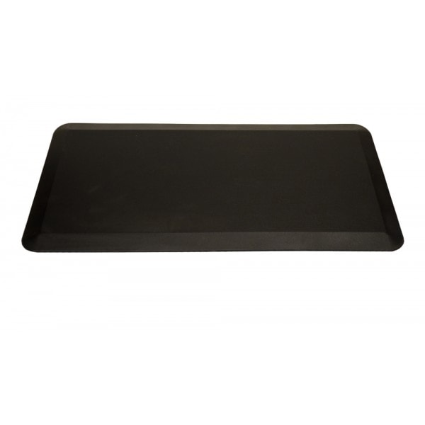 ApexDesk Anti-Fatigue Standing Mat Black Front View