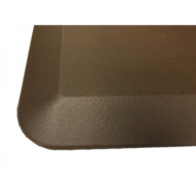 ApexDesk Anti-Fatigue Standing Mat Brown Close Up